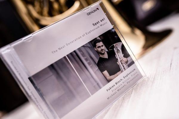 "Fabian Bloch CD ""Spot on!"" - Euphonium Solist"